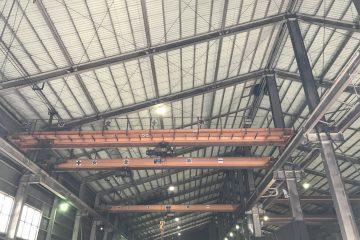 株式会社日興防鋼業様 工場照明更新